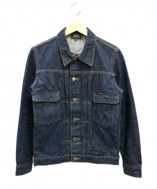 A.P.C.(アーペーセー)A.P.C. (アーペーセー) デニムジャケット インディゴ サイズ:Sの古着・服飾アイテム