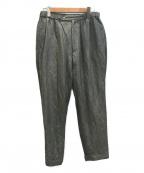 KAPTAIN SUNSHINE()の古着「Traveller Trousers」 ブラック