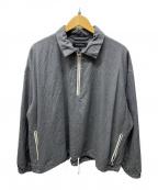 vainl archive(ヴァイナルアーカイブ)の古着「プルオーバーシャツジャケット」|グレー