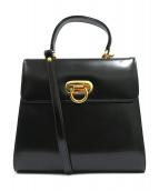 Mila Schon(ミラショーン)の古着「2WAYバッグ」|ブラック