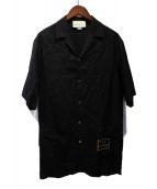 ()の古着「20SS Orgasmiqueボーリングシャツ」|ブラック