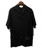 GUCCI(グッチ)の古着「20SS Orgasmiqueボーリングシャツ」|ブラック