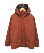 THE NORTH FACE(ザノースフェイス)の古着「CASSIUS TRICLMATE JACKET」 ブラウン