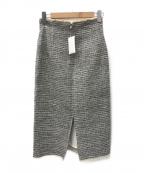 Whim Gazette(ウィムガゼット)の古着「LA TORRE ツイードスカート」