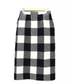TICCA(ティッカ)の古着「チェックタイトスカート」 グレー