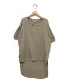 GOOD GRIEF!×&RC(グッドグリーフ×アンドアールシー)の古着「ロングテイルTシャツ」|ベージュ