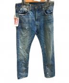 LEVI'S(リーバイス)の古着「ダメージ加工デニムパンツ」|インディゴ