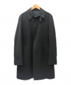 HERNO(ヘルノ)の古着「ステンカラーコート」 ブラック