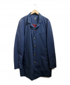 eleventy(イレブンティ)の古着「シングルコート」 ネイビー