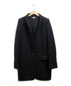 STELLA McCARTNEY(ステラマッカートニー)の古着「チェスターコート」|ブラック