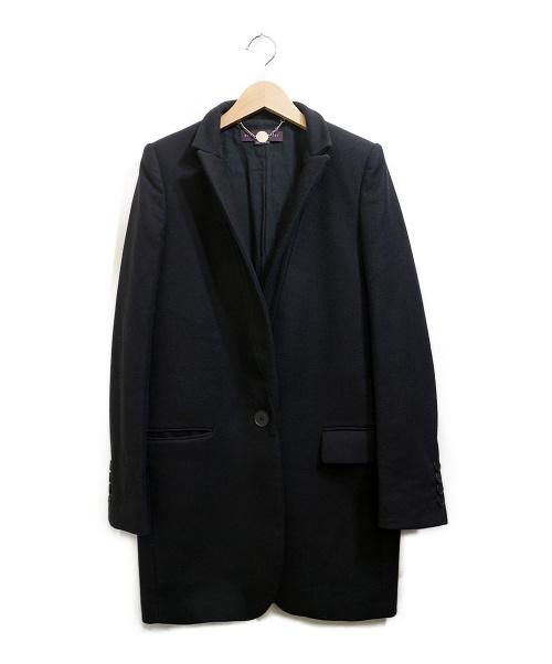 STELLA McCARTNEY(ステラマッカートニー)STELLA McCARTNEY (ステラマッカートニー) チェスターコート ブラック サイズ:38の古着・服飾アイテム