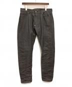 UNDERCOVER(アンダーカバー)の古着「20SS ストレートデニムパンツ」|グレー