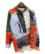 LOEWE()の古着「19SS 再構築バンダナシャツ」 マルチカラー