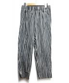 marimekko(マリメッコ)の古着「パジャマパンツ」|ブラック×ホワイト