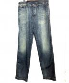GABRIELE PASINI(ガブリアルパジーニ)の古着「デニムパンツ」|インディゴ