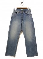 SERGE de bleu(サージ)の古着「リアルヴィンテージワイドパンツ」|インディゴ