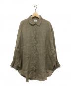 LAppartement(アパルトモン)の古着「ラミーシャツ」|ベージュ