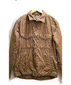 save khaki united(セーブカーキユナイテッド)の古着「FLEECE LINEDシャツジャケット」|ブラウン