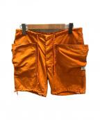 SASSAFRAS(ササフラス)の古着「ショートパンツ」 オレンジ