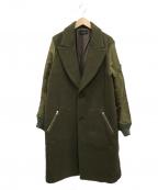 G.V.G.V(ジーヴィージーヴィー)の古着「MA1スリーブコート」|オリーブ