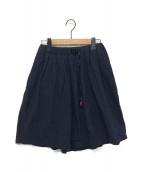 GRAMICCI(グラミチ)の古着「テープベルトミニスカート」|ネイビー
