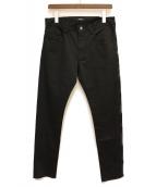 UNDERCOVER(アンダーカバー)の古着「ストレッチパンツ」|ブラック