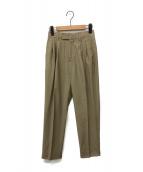 STUNNING LURE(スタニングルアー)の古着「チンツクリーンパンツ」|ブラウン
