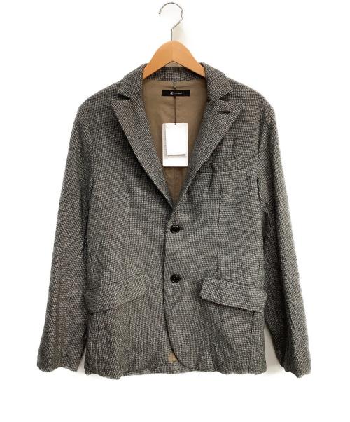 JOHNBULL(ジョンブル)Johnbull (ジョンブル) クラシックラペルドジャケット グレー サイズ:M 未使用品 ウールの古着・服飾アイテム