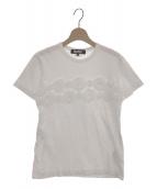 BLACK COMME des GARCONS(ブラックコムデギャルソン)の古着「Tシャツ」|ホワイト