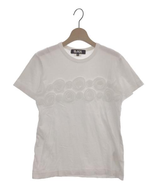 BLACK COMME des GARCONS(ブラックコムデギャルソン)BLACK COMME des GARCONS (ブラックコムデギャルソン) Tシャツ ホワイト サイズ:Mの古着・服飾アイテム