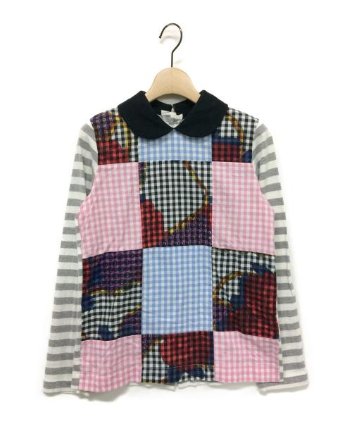 tricot COMME des GARCONS(トリコ コムデギャルソン)tricot COMME des GARCONS (トリコ コムデギャルソン) パッチワークカットソー サイズ:Sの古着・服飾アイテム