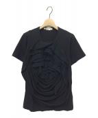 COMME des GARCONS(コムデギャルソン)の古着「15SS 立体装飾カットソー」|ブラック
