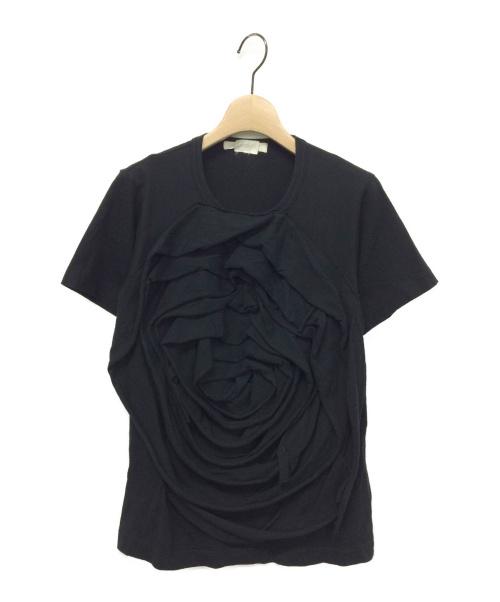 COMME des GARCONS(コムデギャルソン)COMME des GARCONS (コムデギャルソン) 15SS 立体装飾カットソー ブラック サイズ:Sの古着・服飾アイテム