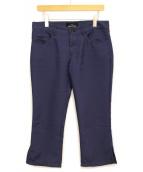 ()の古着「ステッチデザインパンツ」|ネイビー