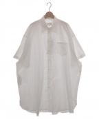 Maison Margiela 4(メゾンマルジェラ4)の古着「オーバーサイズシャツ」 ホワイト