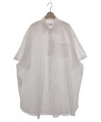 Maison Margiela 4(メゾンマルジェラ4)の古着「オーバーサイズシャツ」|ホワイト