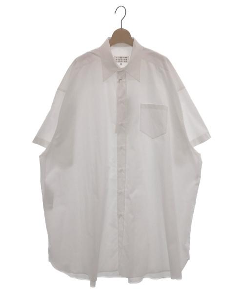 Maison Margiela 4(メゾンマルジェラ4)Maison Margiela 4 (メゾンマルジェラ4) オーバーサイズシャツ ホワイト サイズ:XS 未使用品の古着・服飾アイテム