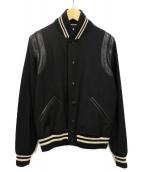 Saint Laurent Paris(サンローランパリ)の古着「テディジャケット」|ブラック