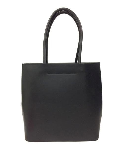 土屋鞄(ツチヤカバン)土屋鞄 (ツチヤカバン) ブラックヌメトートバッグ ブラックの古着・服飾アイテム