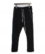 DARK SHADOW()の古着「ドローストリングパンツ」|ブラック