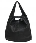 REN(レン)の古着「2WAYレジブクロSトートバッグ」|ブラック