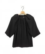 Maison Margiela 4(メゾンマルジェラ4)の古着「ブラウス」 ブラック