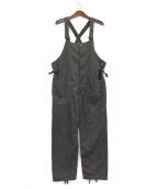 Engineered Garments(エンジニアド ガーメンツ)の古着「Wool Homespunオーバーオール」|グレー