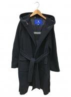 BLUE LABEL CRESTBRIDGE(ブルーレーベルクレストブリッジ)の古着「フーデッドコート」|ネイビー