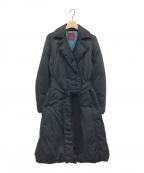 AMACA(アマカ)の古着「ダウンコート」 ブラック
