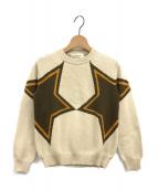 beautiful people(ビューティフルピープル)の古着「star intarsia pullover」|アイボリー