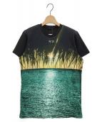 N°21(ヌメロ ヴェントゥーノ)の古着「プリントTシャツ」|ブラック