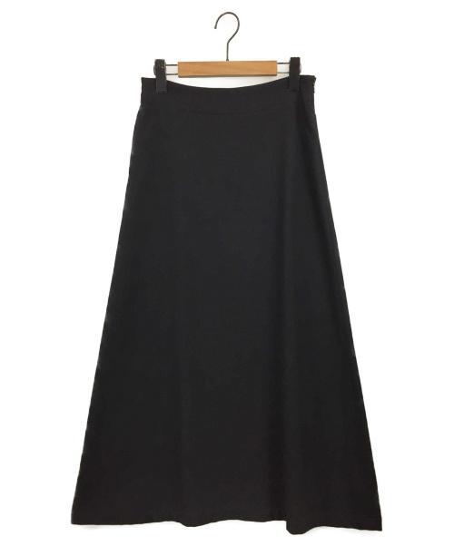 Y's(ワイズ)Y's (ワイズ) マキシスカート ブラック サイズ:3の古着・服飾アイテム