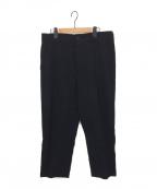 DAMIR DOMA(ダミールドマ)の古着「ウールデザインパンツ」|ブラック