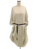 COGTHEBIGSMOKE(コグザビッグスモーク)の古着「カプセルドレス」|ベージュ